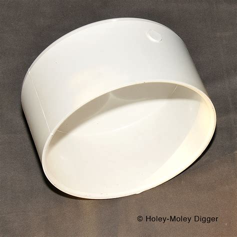casing capping 8 inch pvc pipe cap cache casing cover
