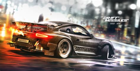drift porsche 911 porsche 911 rendered as awesome drift missile with nfs