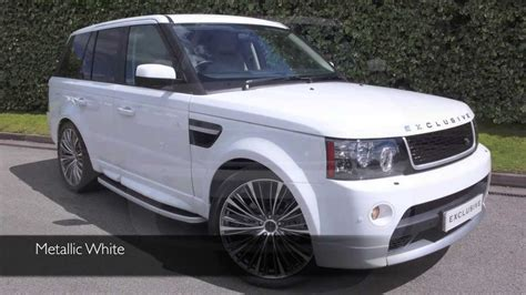 land rover autobiography white exclusive cars gb land rover range rover sport