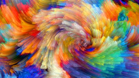 vibrant wallpaper wallpaper vibrant colorful bloom fractals textures 5k