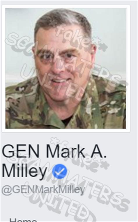 mark a milley scam scamhaters united patton jack using general mark milley