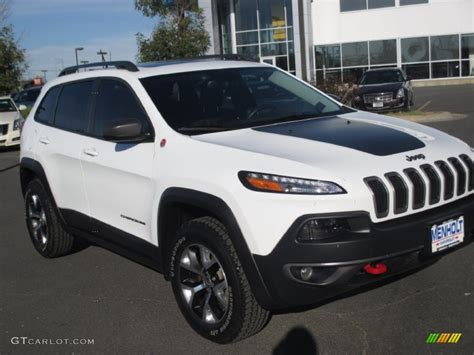 jeep cherokee trailhawk white 2014 bright white jeep cherokee trailhawk 4x4 109872667