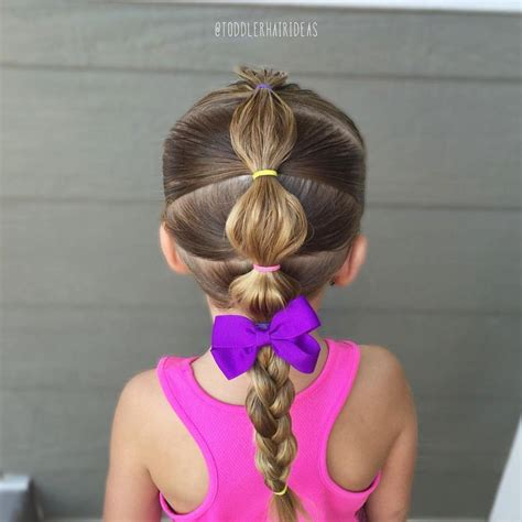 Toddler Braids Hairstyles by 25 Best Ideas About Kid Hairstyles On Easy