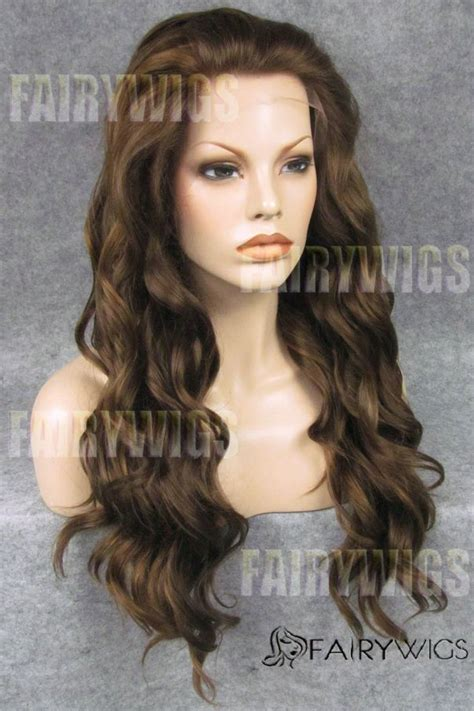 highest rated wigs for women top rated long brown female wavy 20 inch lace front hair