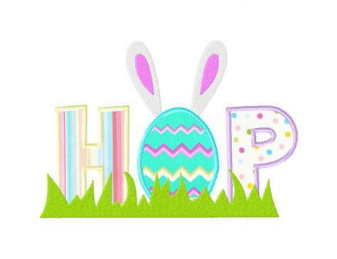 easter designs easter themed hop machine embroidery design includes both
