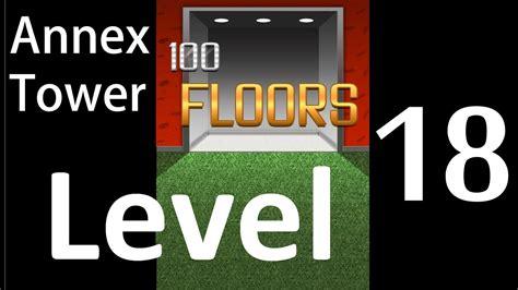 100 floors level 18 annex 100 floors level 18 annex tower solution walkthrough