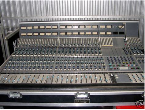 neve recording console the console cowboy neve 8058 recording console loc ca usa