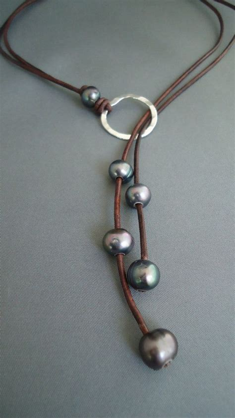 make silver jewelry 25 best ideas about black pearls on black