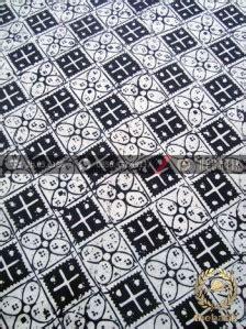 Kain Katun Kotak Hitam Coksu kain batik bahan baju motif kawung kotak hitam thebatik