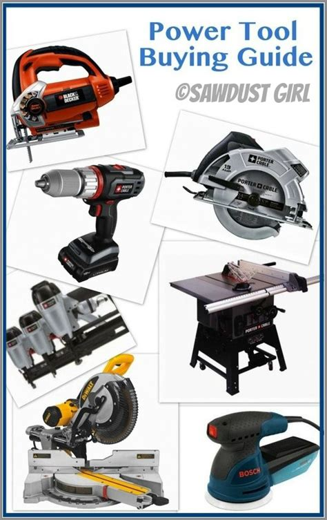 power tools list carpentry power tools list