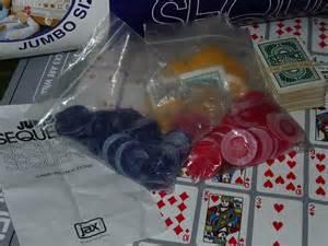 96 jumbo sequence family mat chips cards ebay