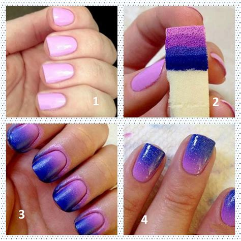easy nail art techniques at home easy ombre nail art at home nadine beauty forever