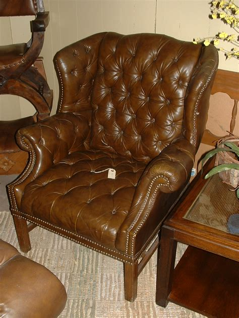 tufted leather chair craigslist tufted leather wingback chair tufted chair ebayfind great