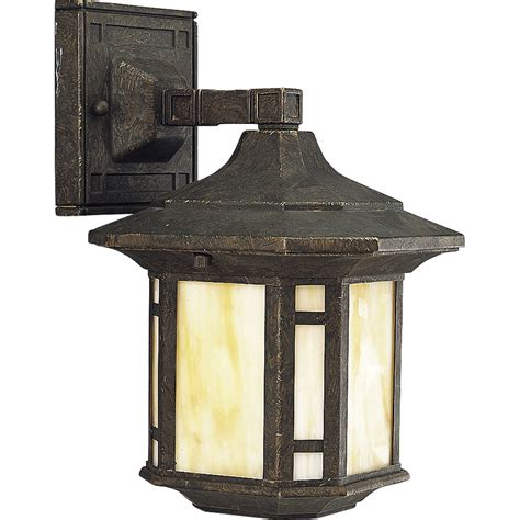 Progress Outdoor Lighting Fixtures Progress Lighting P5628 46 Arts And Crafts Outdoor Wall Mount Lantern