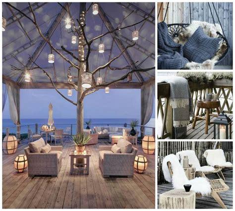 Decoration Terrasse Exterieur by Am 233 Nagement Terrasse Ext 233 Rieur Pour L Hiver En 45 Id 233 Es