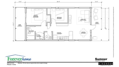home design 20 x 40 the sumner floor plan foreverhome