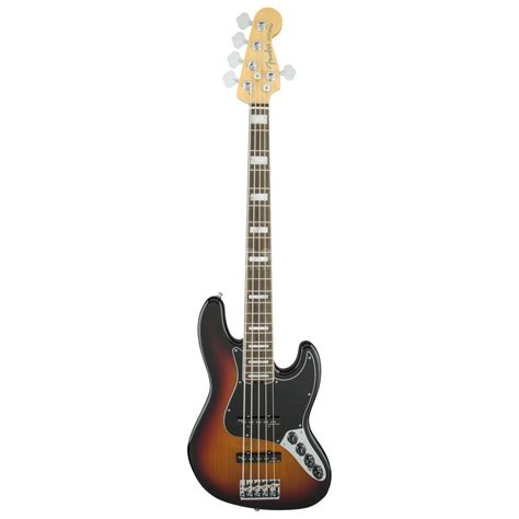 Bass Fender Jazz Sunbers fender american elite jazz bass v rw 3 color sunburst