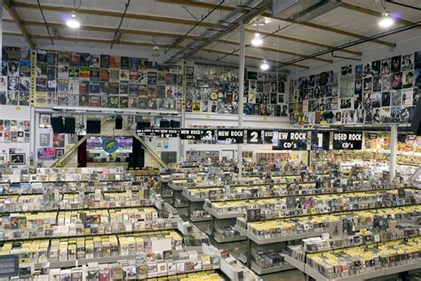 Records Louisiana The World S Best Record Shops 019 Amoeba Los Angeles
