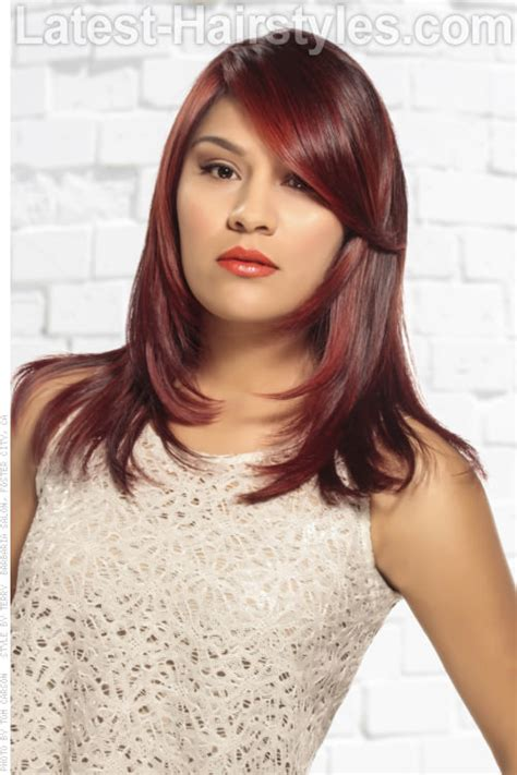 best hair color for hispanic women cranberry hair color in 2016 amazing photo
