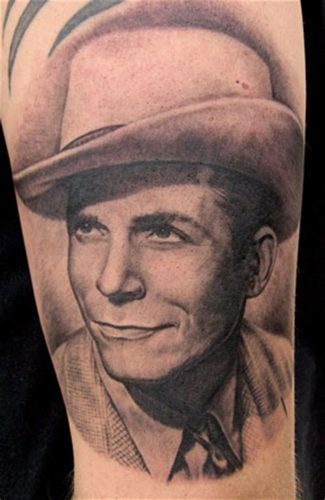 looking for unique karrie rosenbaum tattoos hank williams sr