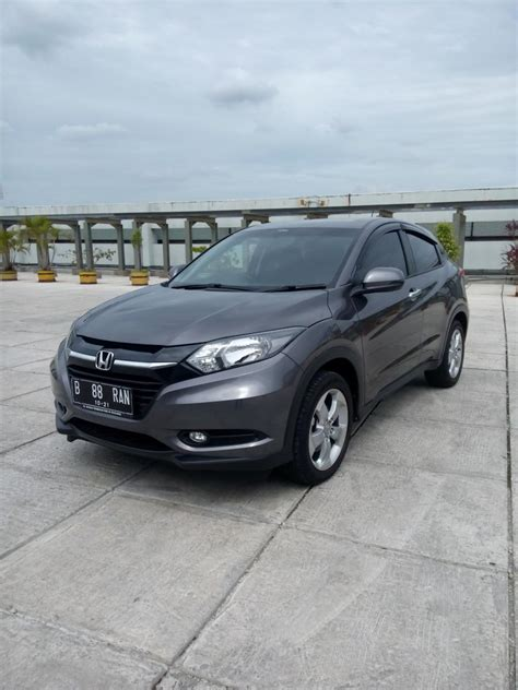 Honda Hr V 1 5 E Cvt 2016 hr v honda hrv all new 1 5 e cvt 2016 grey km 1000