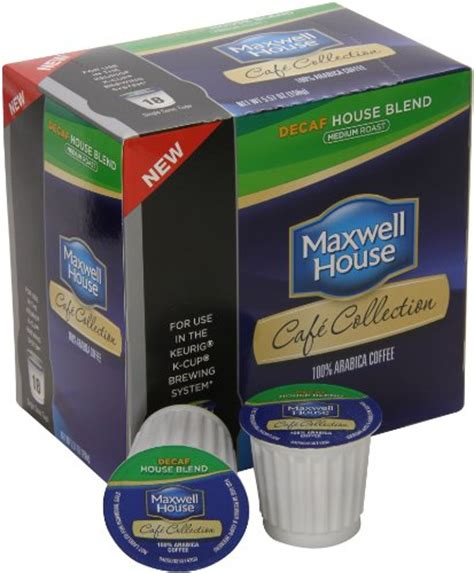 maxwell house k cups maxwell house caf 233 collection coffee decaf k cups 5 57 oz 18 count dealtrend