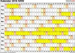 Kalender 2018 Nrw Xls Kalender 2018 Nrw Ferien Feiertage Excel Vorlagen