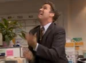 the office will ferrell juggles without balls