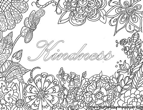 coloring pages kindness ways to make adult coloring a social activity adult