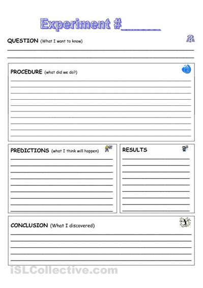 School Worksheet Template by Adam S Free Science Worksheets Primary Students Lab