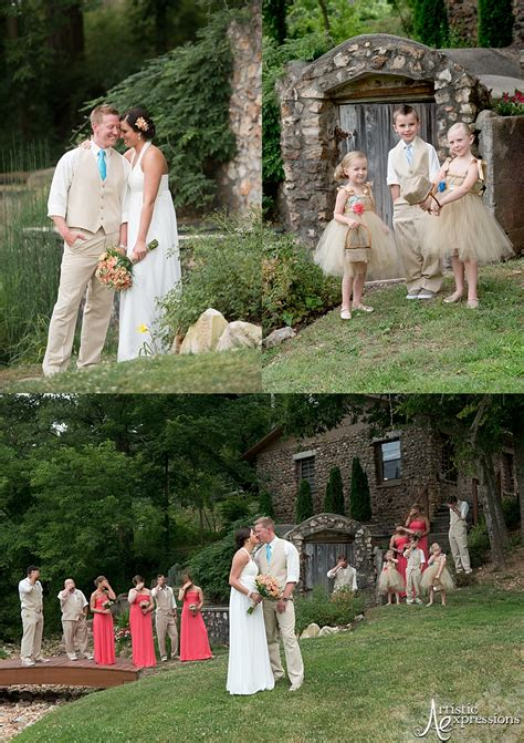 Wedding Venues Joplin Mo by And Justin Are Married Springhouse Gardens Wedding