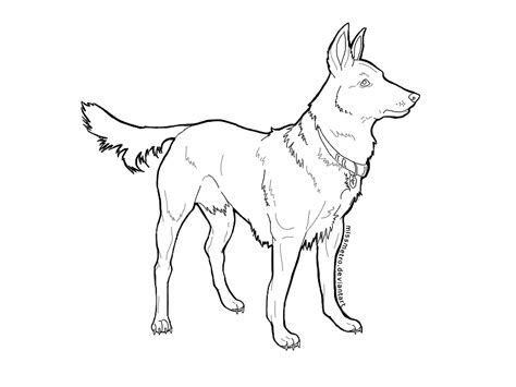 german shepherd coloring pages to print dog breeds picture