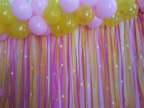 Birthday Wall Decorations by Custom Made Vinyl Backdrop Twinkle Twinkle Theme