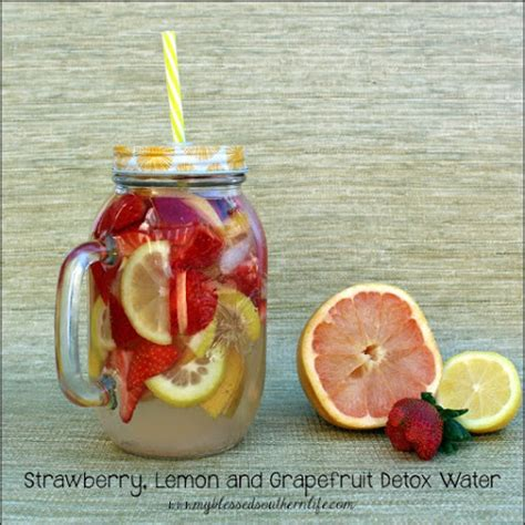 Grapefruit Detox Cleanse by 10 Best Strawberry Lemon Water Recipes Yummly