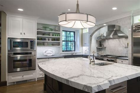 White Kitchen Cabinets Compliment Stainless Steel Appliances White Kitchen Cabinets With Stainless Steel Appliances