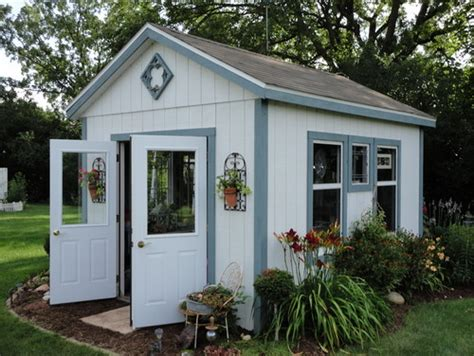 Renovated Sheds by 10 Adorable Garden Sheds Town Country Living