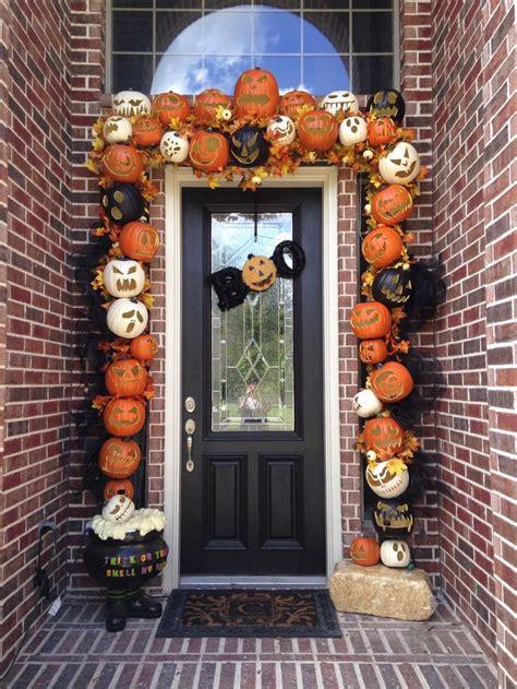 decorate halloween 31 ideas halloween decorations door for warm welcome