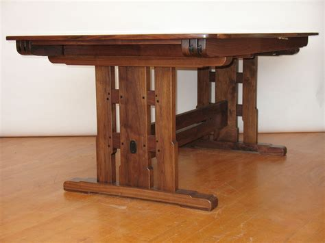 Handmade Trestle Tables - handmade trestle table by paula garbarino custom furniture