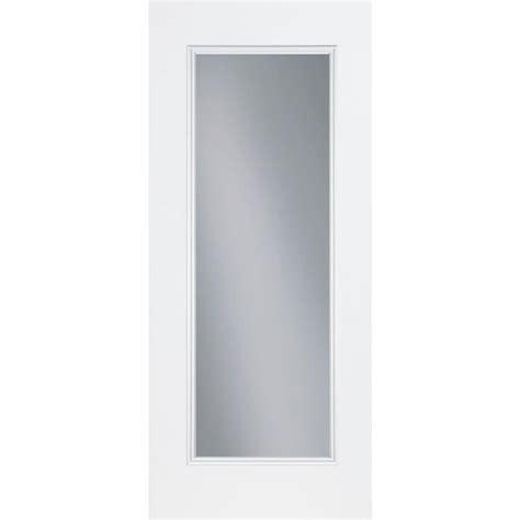 Masonite 36 In X 80 In Premium Full Lite Primed Steel Lite Exterior Door
