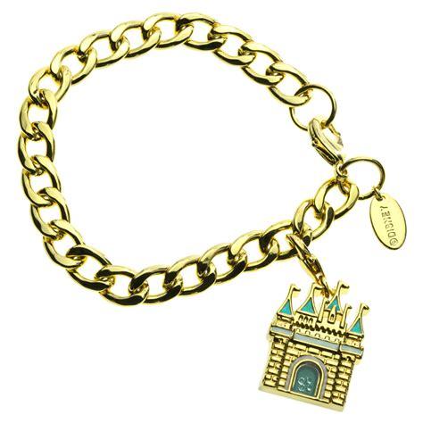 disney couture magic castle charm bracelet at jewellery4