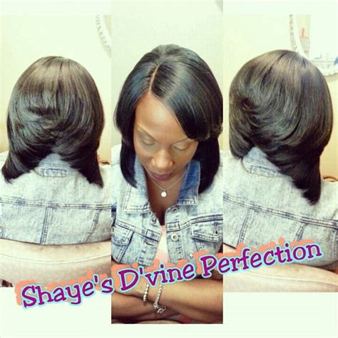 pronto bob hairstyles pronto quick weave layered bob bob hairstyle pinterest