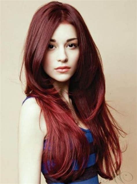 model rambut belah tengah 5 model rambut layer panjang untuk wanita beserta gambar