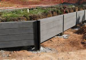 blackwood concrete sleeper retaining wall newtons