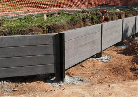 Cement Sleeper Retaining Walls blackwood concrete sleeper retaining wall newtons building landscape suppliesnewtons