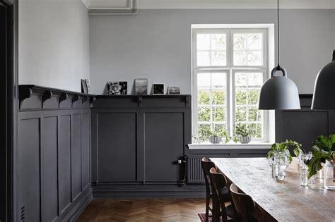 len wohnzimmer modern schwedischer landhausstil modern mit starken kontrasten