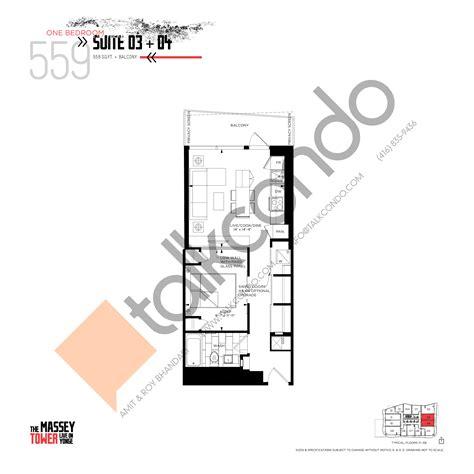 Condos Toronto Floor Plans - the massey tower condos talkcondo