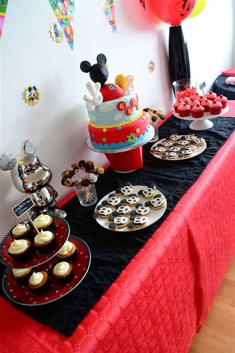 Decoration Mickey Pour Bapteme by D 233 Co De Table Mickey