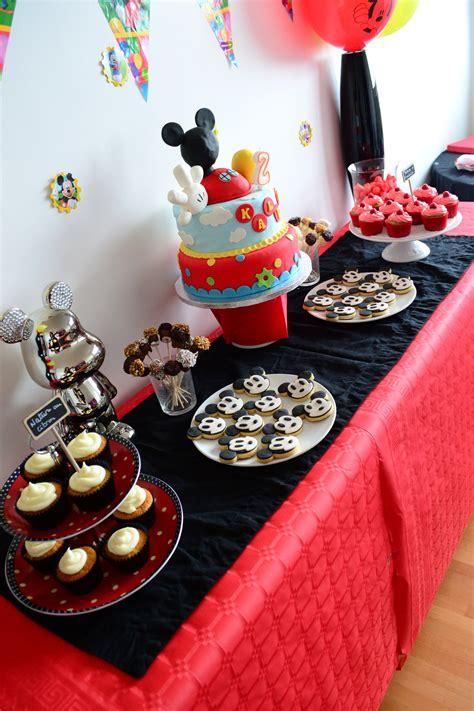 Decoration Bapteme Mickey by D 233 Co De Table Mickey