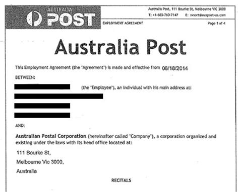 Employment Letter Of Offer Queensland Scam Alerts Australia Post