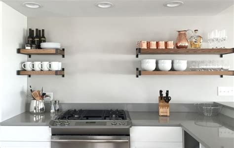 cuisines ouvertes sur s駛our decoration etagere de cuisine